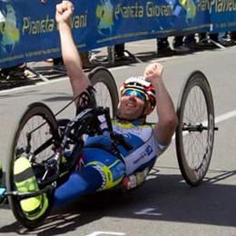Incidente sulla ciclabile a Clusone Ferito il campione paralimpico Tomasoni