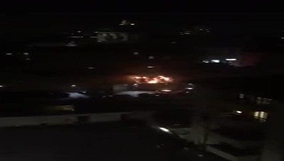 Incendio in centro a Bergamo