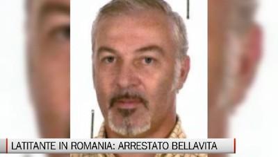 Era latitante in Romania, arrestato Bellavita