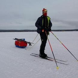 Bonazzi non rompe il ghiaccio in Lapponia Costretto al ritiro dall'ultramaratona