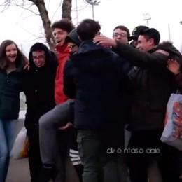 «Chi è social... diventa sociale» -Video  Giovani di Seriate raccolgono viveri