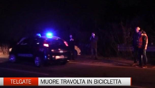 Telgate, muore travolta in bicicletta
