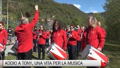 Valseriana - Addio a Tony, il Maestro di musica