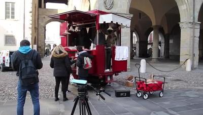 Ciak sulle bellezze di Bergamo Città Alta, le telecamere di «Linea Verde»