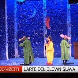 Teatro Donizetti, l'incanto e la poesia del clown Slava