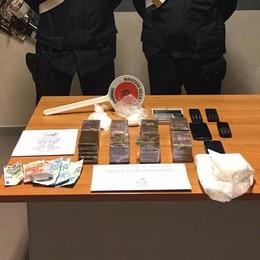 Aveva la «base operativa» in albergo Romano, arrestato con 5kg di droga