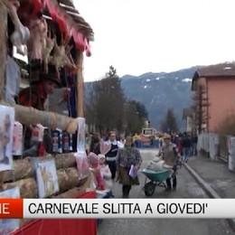 Clusone, la sfilata di Carnevale slitta a giovedì