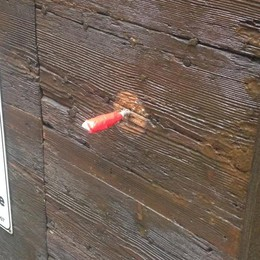 Via Pignolo, raid davvero singolare Rubati i pomelli d'ottone di case e chiese