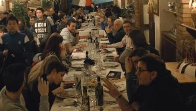 La festa dell'Atalanta Club Tribulina