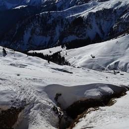 Serie di incidenti in montagna -Video Il più grave è uno scialpinista a Lizzola