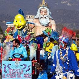 Brembate Sopra, in 20mila al Carnevale  Di Casazza il miglior carro