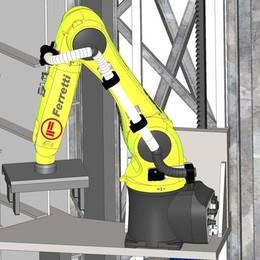 Il muratore robot arriva in cantiere Ferretti costruisce il suo futuro