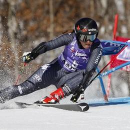 Sci, Sofia Goggia ha fatto tredici Seconda nel trionfale podio italiano