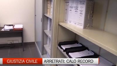 Cause civili: Bergamo da record come smaltimento dei processi