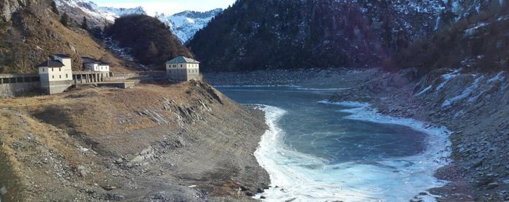 «Il Po asciutto come ad agosto» Lago d'Iseo, poca acqua. Natura in tilt