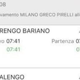 «Il treno passa, non si ferma a Morengo» Un lettore: si è dimenticato di noi