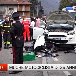 Motociclista 36enne di Selvino muore in un incidente a Casnigo