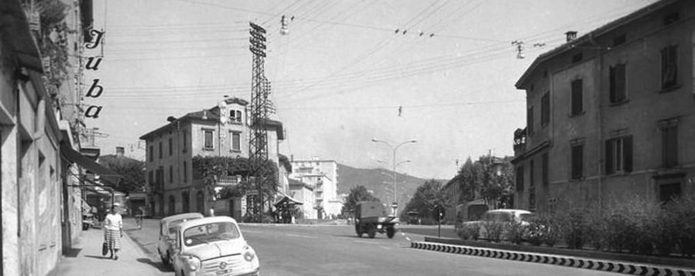 Un salto indietro di mezzo secolo Ecco com'era piazzale Oberdan