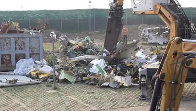 Dopo sette mesi «distrutto» il Boeing finito fuori pista