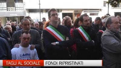 Protesta sindaci: i fondi saranno ripristinati