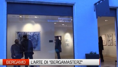 Bergamasterz, l'arte della lettera a Palazzo Zanchi