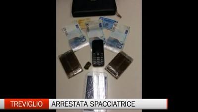 La zia, arrestata spacciatrice di droga