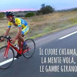 Dall'Etna allo Stelvio no stop Nuoto e bici per la nuova sfida di Yuri