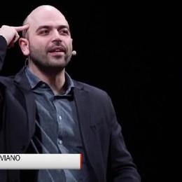 Saviano a Bergamo: Riscopriamo la forza delle parole