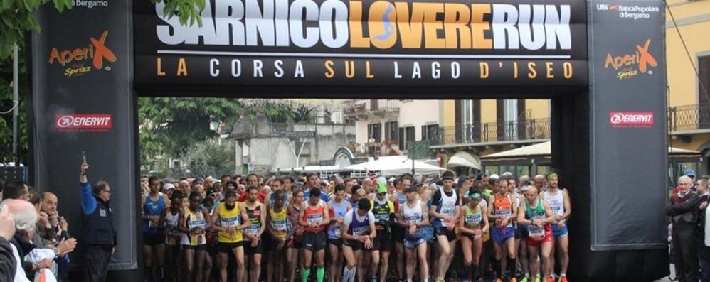 Tutti di corsa  alla Sarnico-Lovere