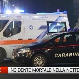 Incidente nella  notte a Vigano San Martino