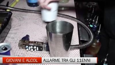 Alcol: a 11 anni breve un ragazzi su tre