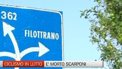 Ciclismo, è morto Michele Scarponi