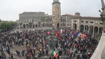 In piazza per il 25 aprile