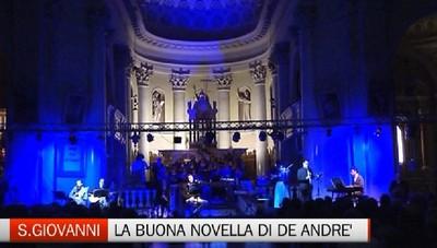 De André e Papa Francesco protagonisti di una serata di musica a San Giovanni Bianco