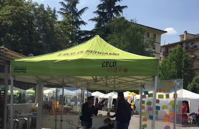 Lo stand de L'Eco café