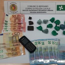Preso con hashish e marijuana Arrestato 36enne in via Bonomelli