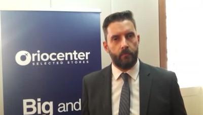 Presentazione nuovo Oriocenter intervista a direttore  Ruggiero Pizzigalli