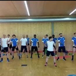 La «Papudance» impazza, video  virale I giocatori dell'Atalanta ballano insieme