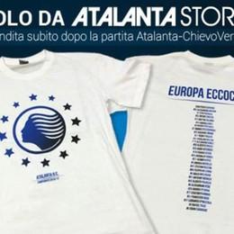 Ecco la maglia celebrativa per l'Europa L'Atalanta prepara la festa