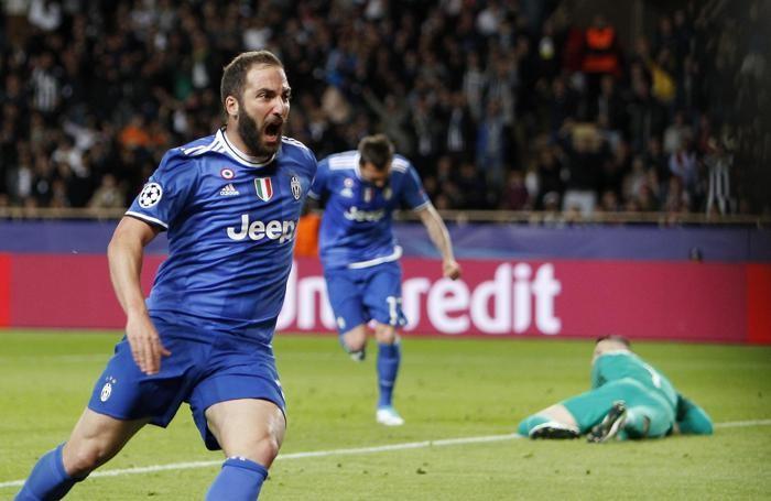 Champions, doppio Higuain e la Juve ipoteca la finale
