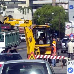 La calda estate dei cantieri in città Lavori per 4 milioni di euro - Video