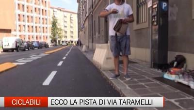 Quasi finita la ciclabile tra il Donizetti e la stazione di Bergamo