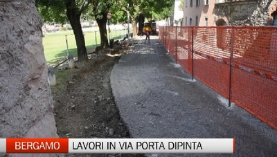 Via Porta Dipinta, contunua restyling