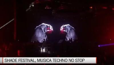 Shade Festival, musica techno no stop