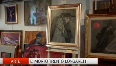 La morte di Trento Longaretti - Un artista non va mai in pensione
