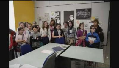 I ragazzi della materna di Sedrina, 5ª A e B, in visita a L'Eco di Bergamo