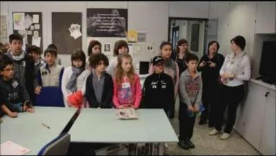 La scuola elementare di Clusone in visita a L'Eco di Bergamo