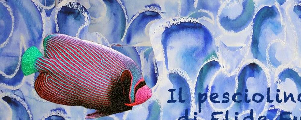 Un pesciolino a righe Fiabe colorate di Elide