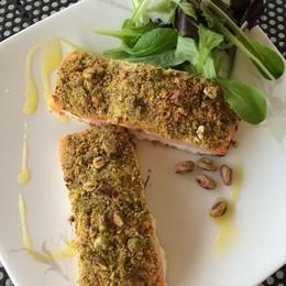 Salmone e pistacchi Così vince il gusto