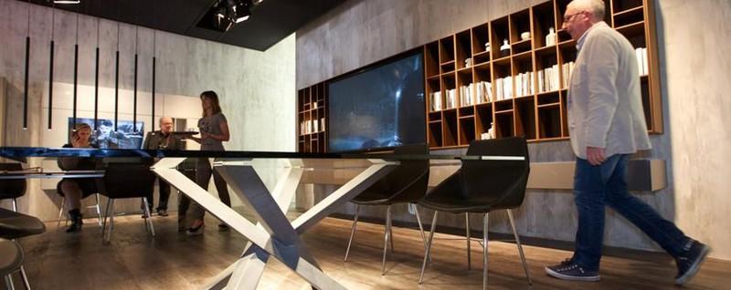 Il salone del mobile in fiera stile design e show cooking for Salone del mobile a bergamo